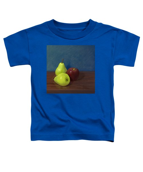 Fruit On A Table Toddler T-Shirt by Jacqueline Barden