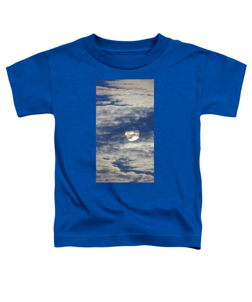 Full Moon In Gemini With Clouds Toddler T-Shirt