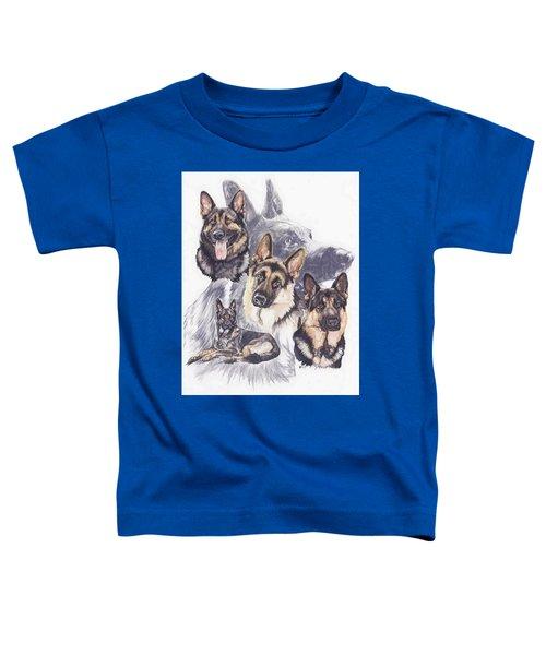 German Shepherd Medley Toddler T-Shirt