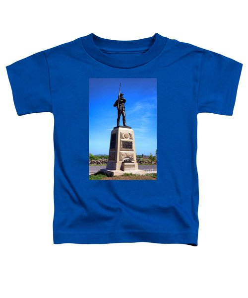 Gettysburg National Park 11th Pennsylvania Infantry Memorial Toddler T-Shirt