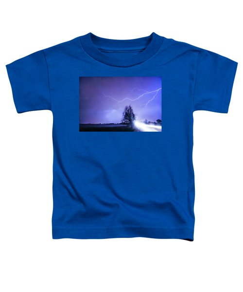 Toddler T-Shirt featuring the photograph Ghost Rider by James BO Insogna