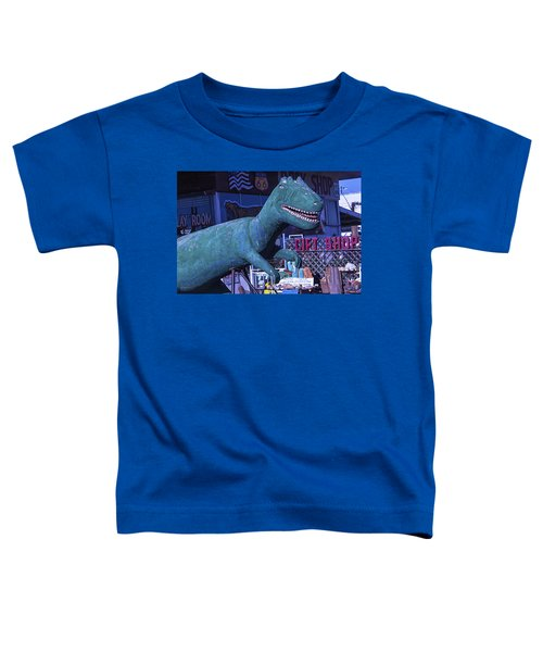 Gift Shop Dinosaur Route 66 Toddler T-Shirt