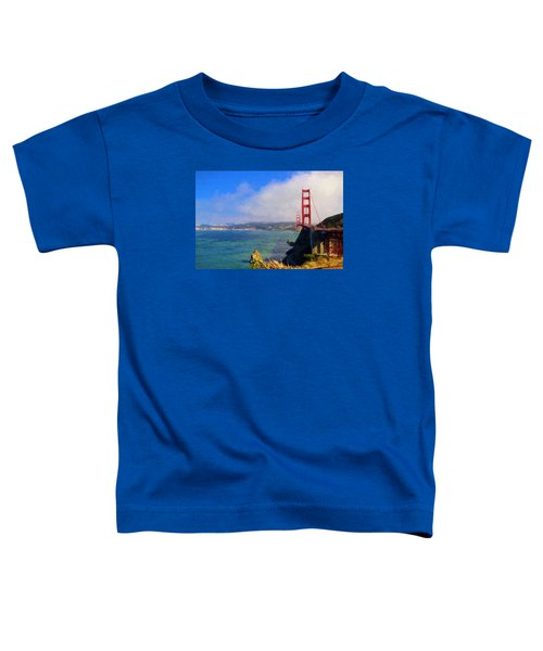 Toddler T-Shirt featuring the photograph Golden Gate by Greg Norrell