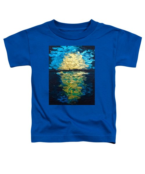 Golden Moon Reflection Toddler T-Shirt