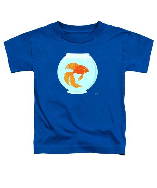 Goldfish Fishbowl Toddler T-Shirt
