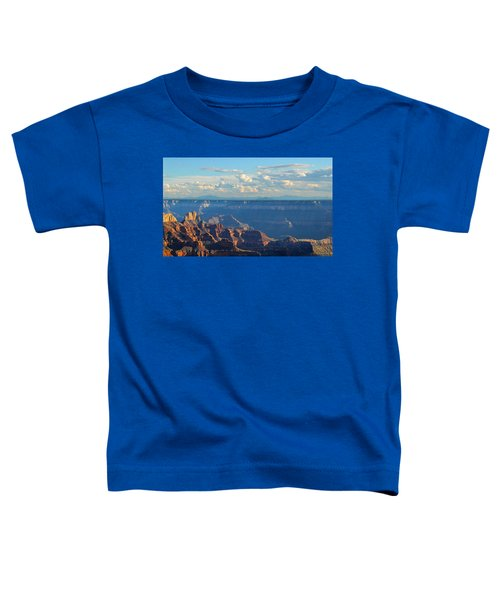Grand Canyon North Rim Sunset San Francisco Peaks Toddler T-Shirt