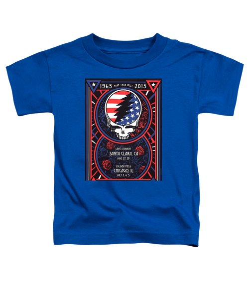 Grateful Dead Santa Clara Ca Toddler T-Shirt