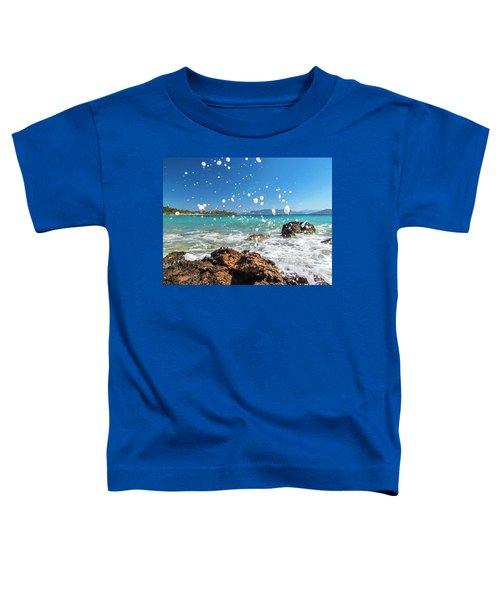 Greek Surf Spray Toddler T-Shirt