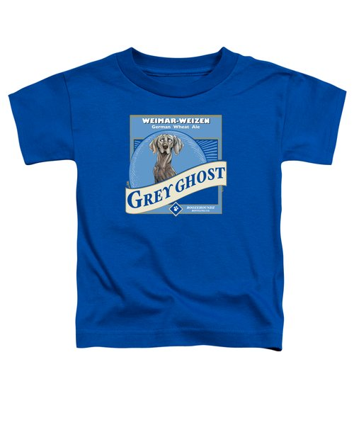 Grey Ghost Weimar-weizen Wheat Ale Toddler T-Shirt