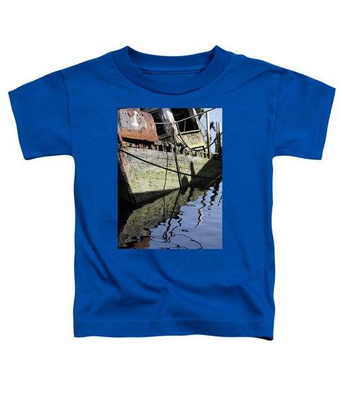 Half Sunk Boat Toddler T-Shirt