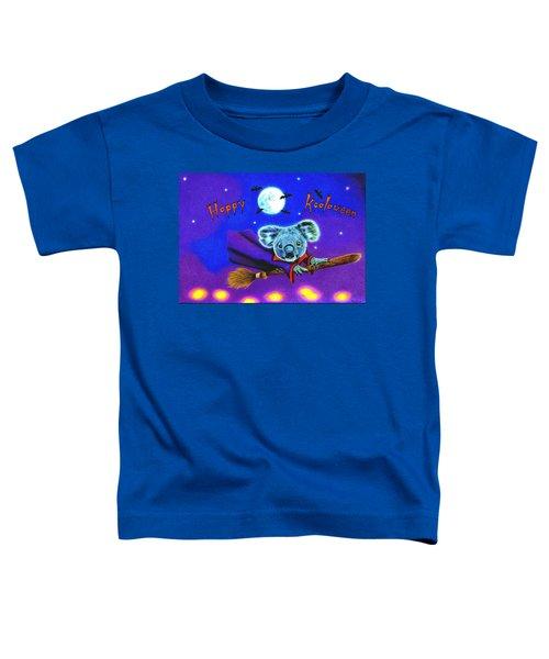 Halloween Koala, Happy Koalaween Toddler T-Shirt