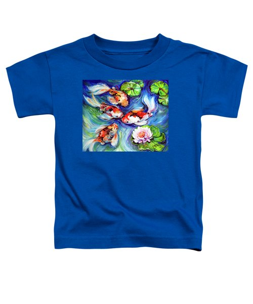 Happiness Koi Toddler T-Shirt