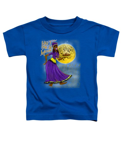 Happy New Moon Sirach 43 Toddler T-Shirt