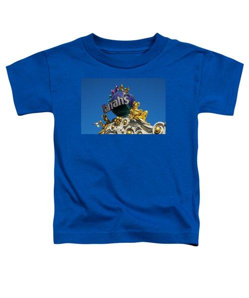 Harrah's Casino Sign On The Las Vegas Strip Toddler T-Shirt