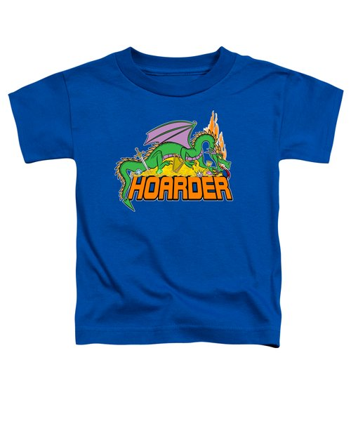 Hoarder Toddler T-Shirt by J L Meadows