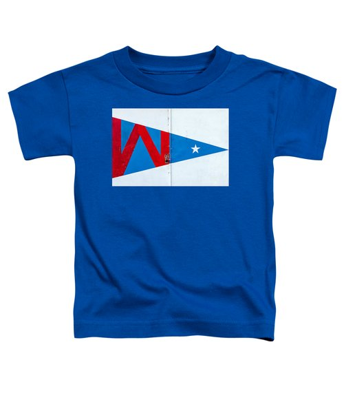 Hoofer Sailing Club Burgee Toddler T-Shirt