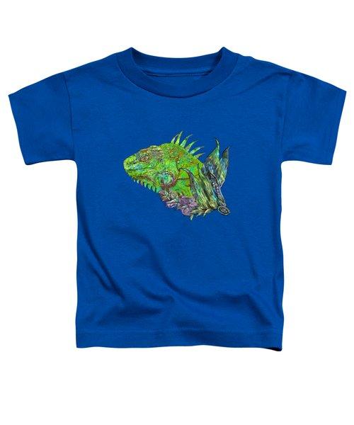Iguana Cool Toddler T-Shirt