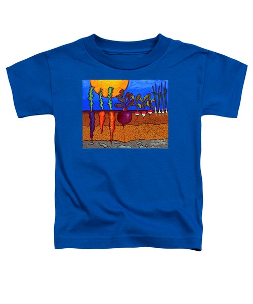 In The Ground Toddler T-Shirt