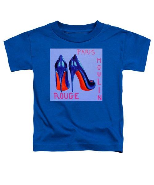 Irish Burlesque Shoes Toddler T-Shirt by John  Nolan