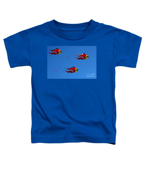 It's A Kite Kind Of Day Toddler T-Shirt
