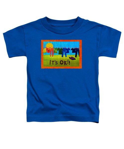 Ok Transparent Toddler T-Shirt