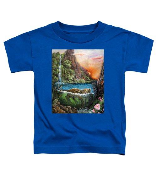 Jaguar Sunset  Toddler T-Shirt