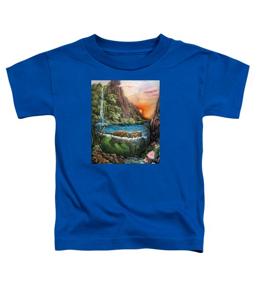 Jaguar Sunset  Toddler T-Shirt