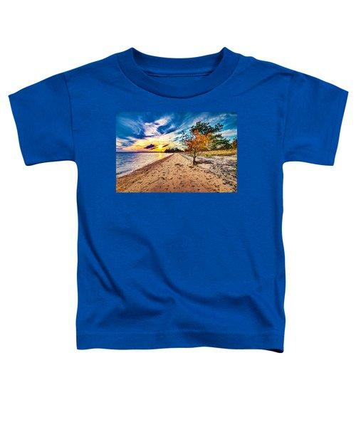 James River Sunset Toddler T-Shirt