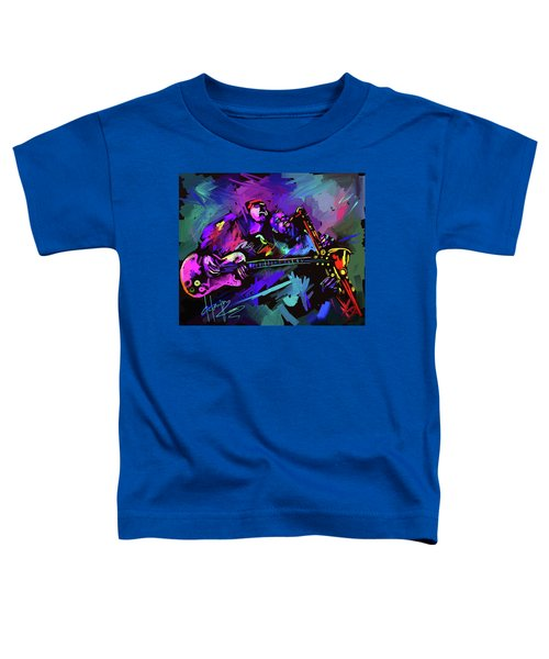Jammin' The Funk Toddler T-Shirt