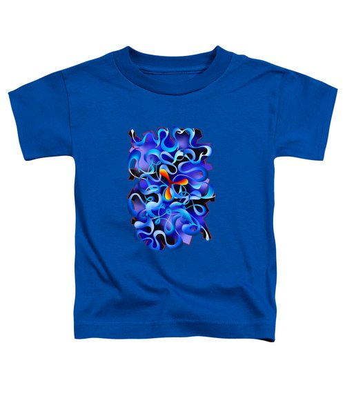 Jamurina V3 - Digital Abstract Toddler T-Shirt
