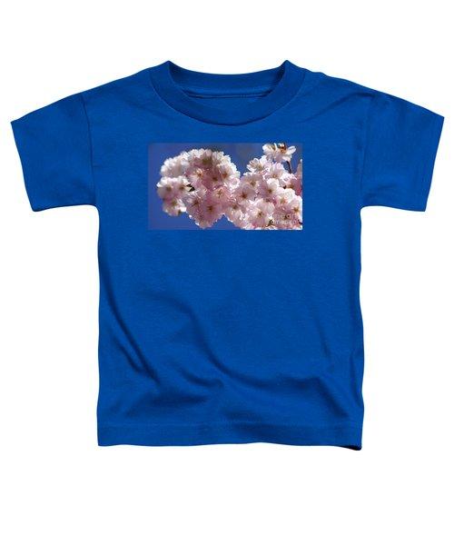Japanese Flowering Cherry Prunus Serrulata Toddler T-Shirt