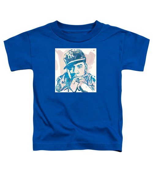 Jay-z  Etching Pop Art Poster Toddler T-Shirt