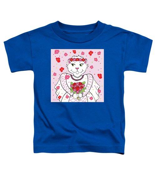 Kitty Bride Toddler T-Shirt