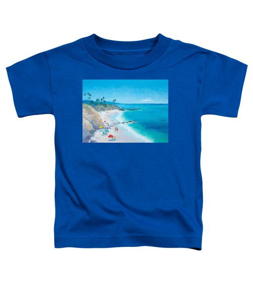 Laguna Beach Umbrellas Toddler T-Shirt