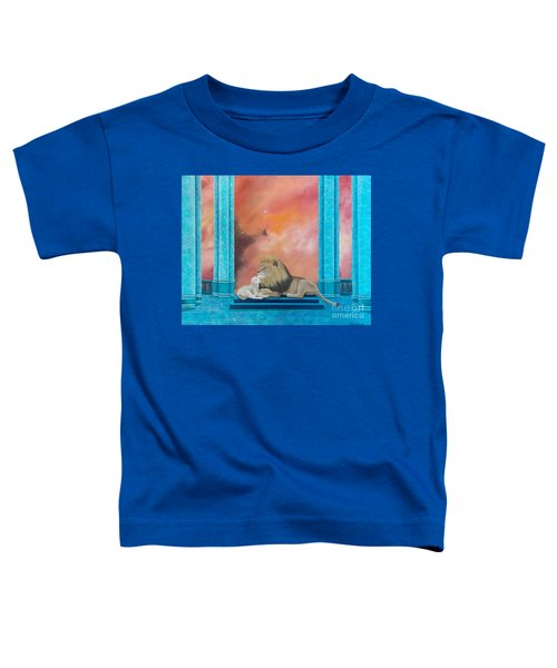 Lion And Lamb Toddler T-Shirt