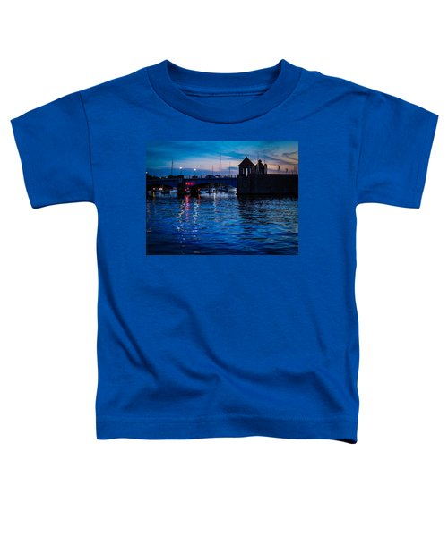 Liquid Sunset Toddler T-Shirt