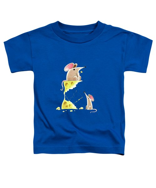 Living Dangerously  Toddler T-Shirt by Andrew Hitchen