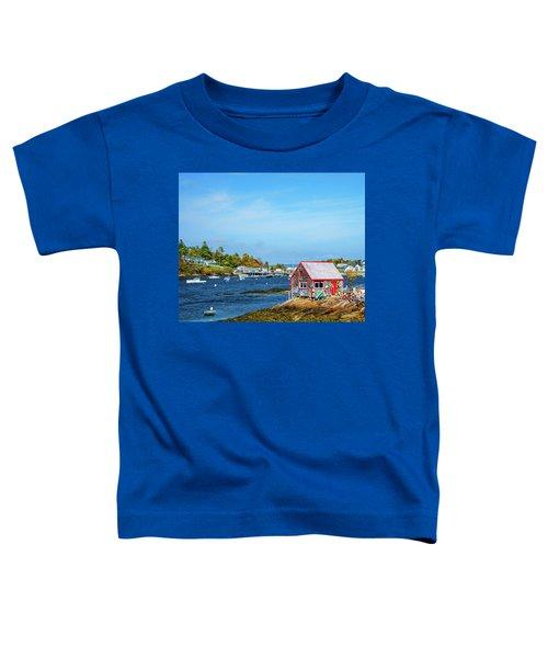 Lobstermen's Shack Toddler T-Shirt