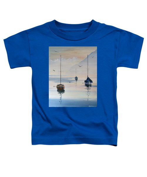 Locarno Boats In February-2 Toddler T-Shirt