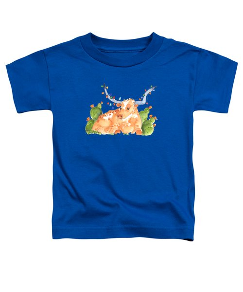 Longhorn Christmas Toddler T-Shirt