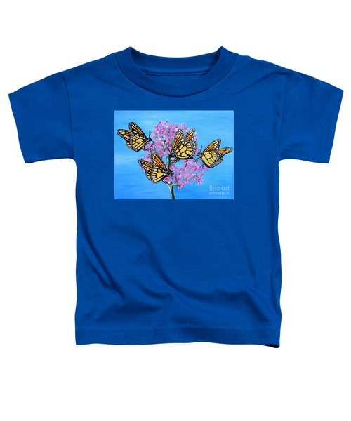 Butterfly Feeding Frenzy Toddler T-Shirt
