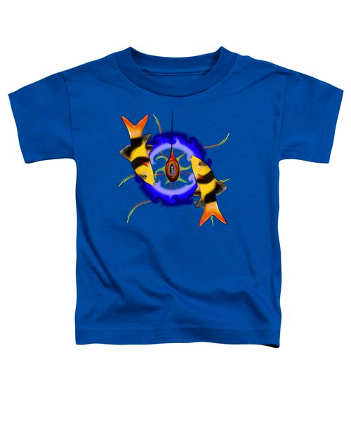 Macrachantis V1 - Colourful Fish Toddler T-Shirt