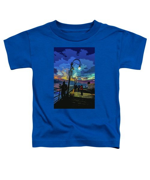 Marine's Silhouette  Toddler T-Shirt