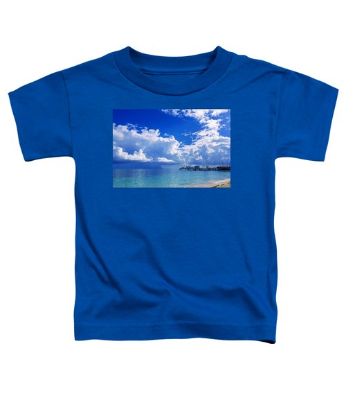 Massive Caribbean Clouds Toddler T-Shirt