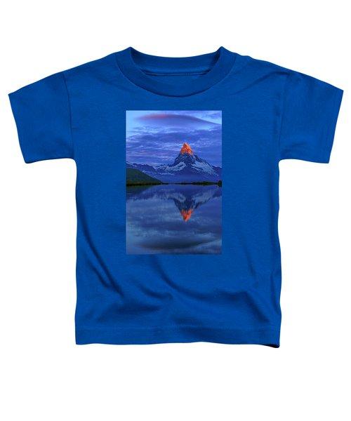 Matterhorn Sunrise Toddler T-Shirt