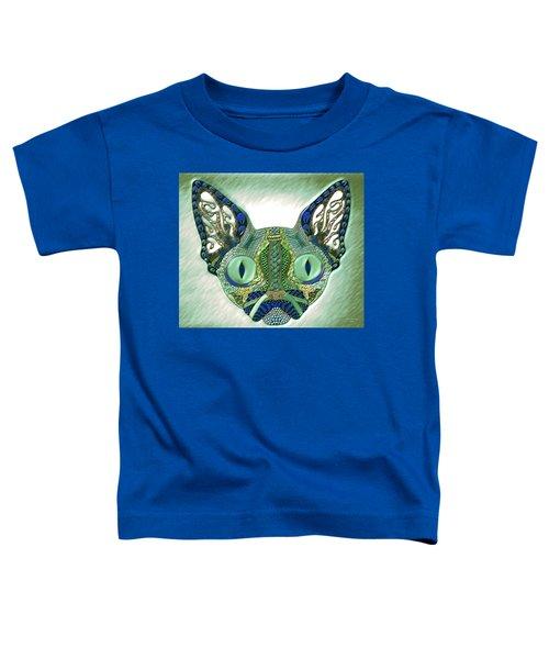Meow Cat Toddler T-Shirt