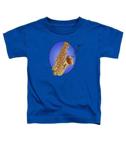 Midnight Blues Toddler T-Shirt by Gill Billington