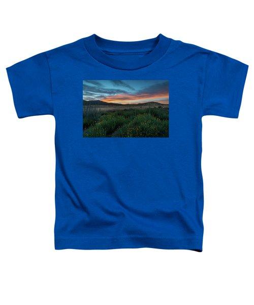 Mission Trails Poppy Sunset Toddler T-Shirt