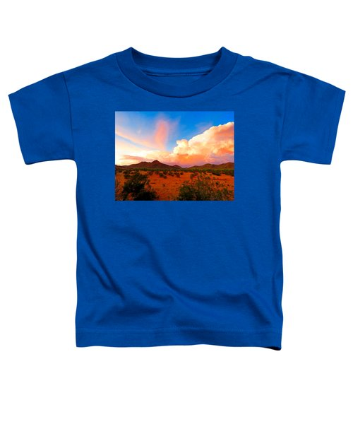 Monsoon Storm Sunset Toddler T-Shirt