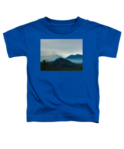 Montana Mountains Toddler T-Shirt